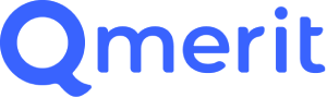 The logo for Qmerit, local electricians contracted who can install your new home charger.